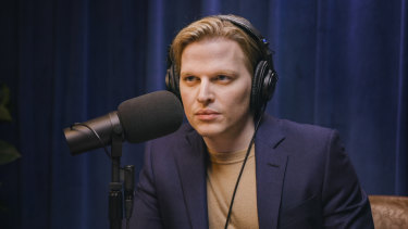 Ronan Farrow in Catch and Kill: The Podcast Tapes.