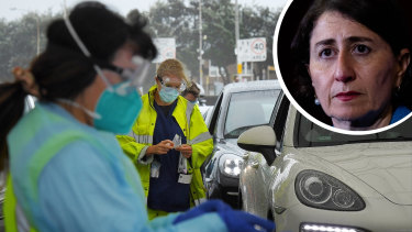 COVID restrictions in Sydney would be extended, Premier Gladys Berejiklian said on Sunday.