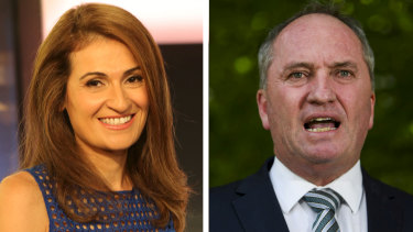 Patricia Karvelas and Barnaby Joyce duelled for 30 minutes over the controversial $80 million water buy back.