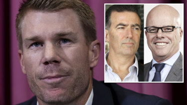 Warner's group of advisors includes his manager James Henderson and Melbourne-based QC Matt Connock.