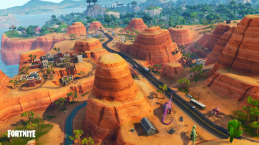 Battle Royale, with its ever changing map, is now in its fifth 'season'.