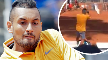 Long road back: Kyrgios missed the  2016 Games and runs the risk of not being chosen for Tokyo.