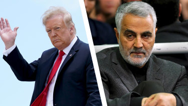 Iran has asked Interpol to help detain US President Donald Trump over a drone strike that killed general Qassem Soleimani.