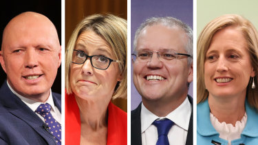 Peter Dutton, Kristina Kenneally, Scott Morrison and Katy Gallagher have all benefitted from the booming housing market.