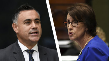 Nationals MPs says NSW Deputy Premier John Barilaro's leadership is safe despite a push from Leslie Williams, one of his senior parliamentary colleagues, to stand aside.
