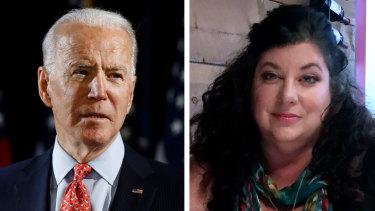 Joe Biden and his accuser, Tara Reade.