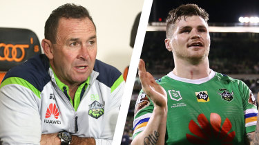 Ricky Stuart and John Bateman.