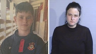 Dasean Kroon, 12, was missing in regional NSW and was believed to be with Tracy Rush, 36.