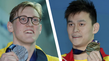 Mack Horton refused to stand on the podium with Sun Yang prior to Sun's ban.