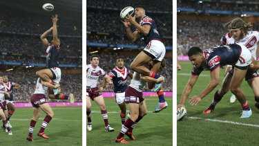Tall wingers like Daniel Tupou of the Roosters stand to benefit most from the rule change.