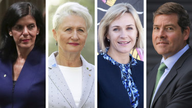 Julia Banks, Kerryn Phelps, Zali Steggall and Oliver Yates are running in the May 18 election as independents.
