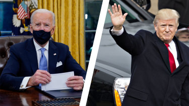 US President Joe Biden indicated Donald Trump will have to say goodbye to ongoing intelligence briefings.
