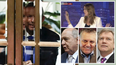 Former PM Tony Abbott has vocal supporters in the media including former chief of staff turned Sky News presenter Peta Credlin; 2GB's Alan Jones and Ray Hadley; and Sky stalwart and News Corp columnist Andrew Bolt.
