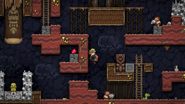 Brand new elements, like the rideable animals, and returning elements that are tweaked in surprising ways make Spelunky 2 feel fresh.
