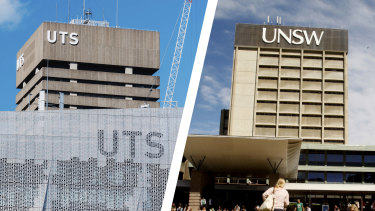 The University of Technology Sydney has overtaken UNSW Sydney as the second-most popular university.