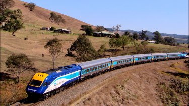 Buses have replaced XPT trains between Dubbo and Sydney due to the damaged track in the Blue Mountains.