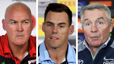 Paul McGregor (Dragons), John Morris (Sharks) and Paul Green (Cowboys) have all been under scrutiny in recent weeks.