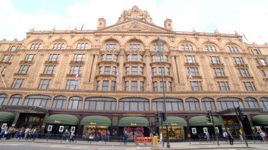 London's Harrods Department Store may have just lost its best customer.
