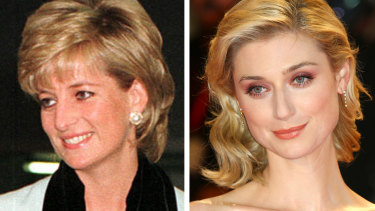 Princess Diana is being played by Elizabeth Debicki in the new season of The Crown.
