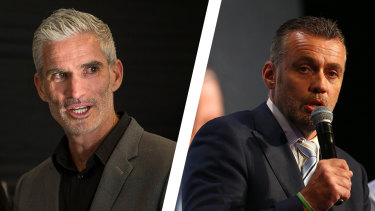 Craig Foster and Simon Hill departed SBS and Fox Sports respectively within three days of each other.