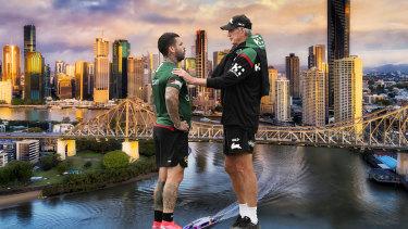 Wayne Bennett gave Adam Reynolds advice on his move to the river city.