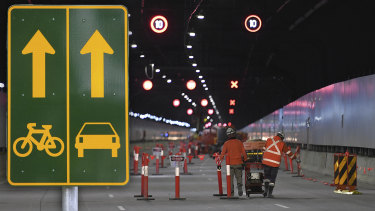 CIMIC is constructing Melbourne's $11 billion Metro Rail tunnel and Sydney's mega $16.8 billion Westconnex motorway.