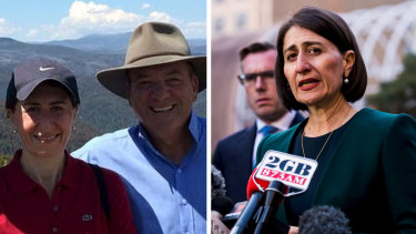 Gladys Berejiklian was in a relationship with Daryl Maguire from the 2015 state election until just a few months ago.