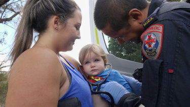Paramedics is full of babies this week.