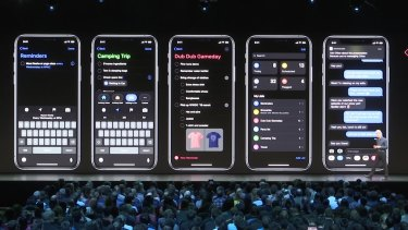 Dark mode is coming to iPhone in iOS 13.