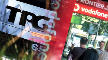 TPG's share price surged despite revealing the demise of its mobile network.