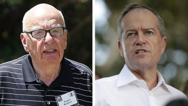Bill Shortenmade headlines last year when he declined Rupert Murdoch's invitations to private meetings.