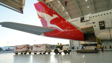 Qantas will be parking some planes for a while.