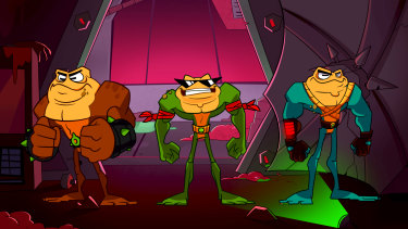 Remember the Battletoads? No? Well they're back!