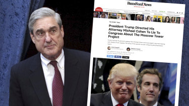 The special counsel's office issued a rare statement disputing the accuracy of BuzzFeed News' story.