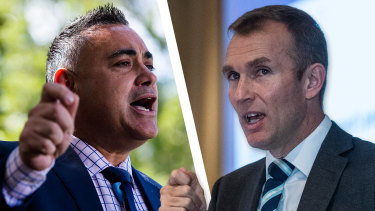 Deputy Premier John Barilaro passed on the concerns of a major property developer to Planning Minister Rob Stokes.