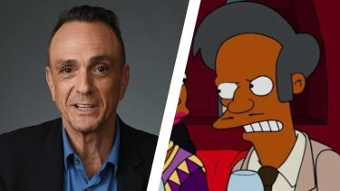 Hank Azaria stepped down as the voice of Apu.