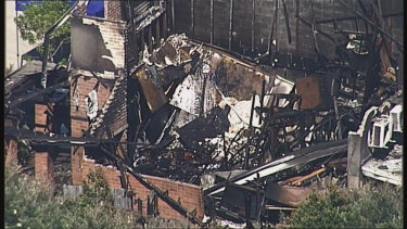 A man and a woman, both aged 49, are believed to have perished in a house fire at Myola Street, Browns Plains.