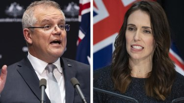 Prime Minister Scott Morrison discussed the temporary measure with New Zealand counterpart Jacinda Ardern on Monday.