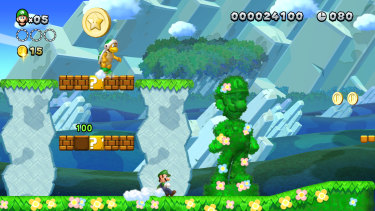 There's a hidden Luigi in every stage. You don't get anything for finding them, they're their own reward.