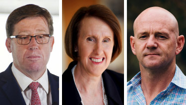 Troy Grant, Leslie Williams and Niall Blair have left the Nationals Party.