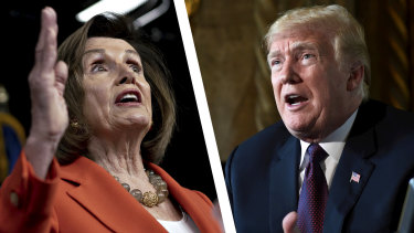 """Nancy Pelosi previously said the case for impeaching Donald Trump needed to be """"compelling, overwhelming and bipartisan""""."""