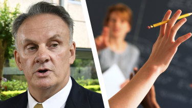 One Nation MP Mark Latham wrote the parliamentary education committee's 100-page report.