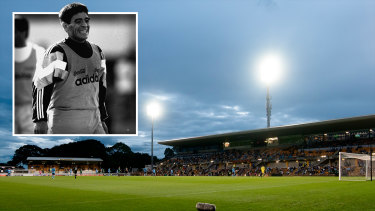 Diego Maradona once blessed the eighth wonder of the world, Leichhardt Oval, with his presence.