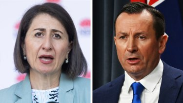 NSW Premier Gladys Berejiklian responded to comments from Western Australia that she was not adequately suppressing virus spread.