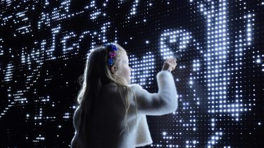 Waterlight Graffiti lets you paint light using water.