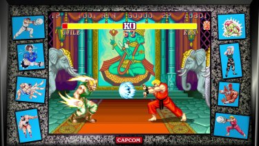 Street Fighter II makes up almost half of this collection, and that's no bad thing.
