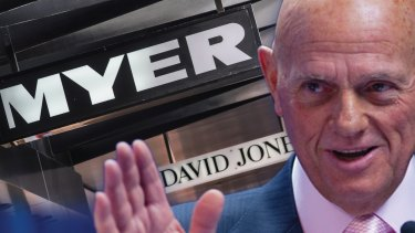 Solomon Lew said there had been a rush of support for his attempts to roll Myer's board.