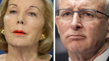 """ABC chair Ita Buttrose is preparing to respond to Mr Fletcher's letter requesting the ABC justify how the <i>Four Corners</i> episode """"Inside the Canberra Bubble"""" was in the public interest."""