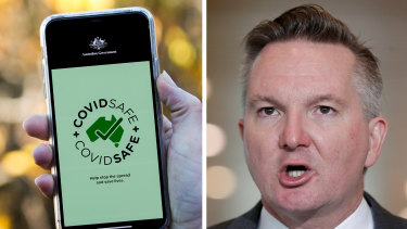 "Labor's Chris Bowen has slammed the Morrison government's COVIDSafe app as a ""$2 million failure""."