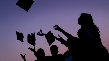 The report found supervisors were significantly happier with graduates who had studied internally.